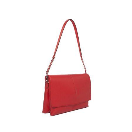 geanta dama rosie cu lant unicat lateral