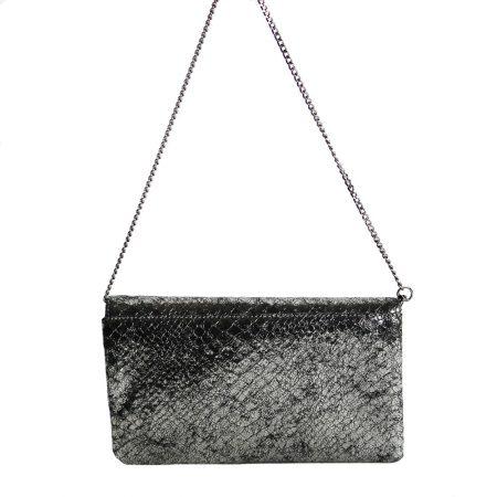 geanta plic cu lant din piele naturala 1437 spate