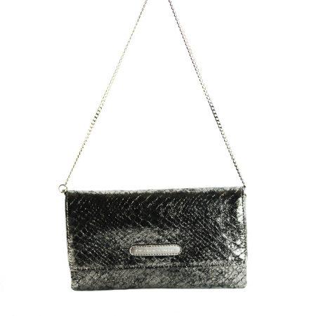 geanta plic cu lant din piele naturala 1437