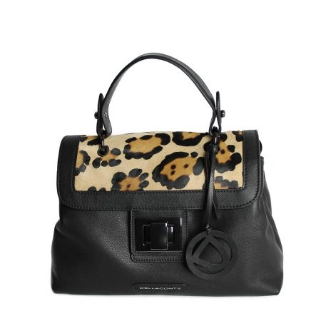 geanta dama din piele naturala leo fata