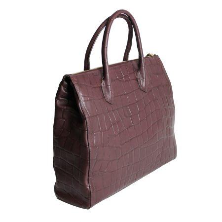 geanta de dama - croco unicat lateral
