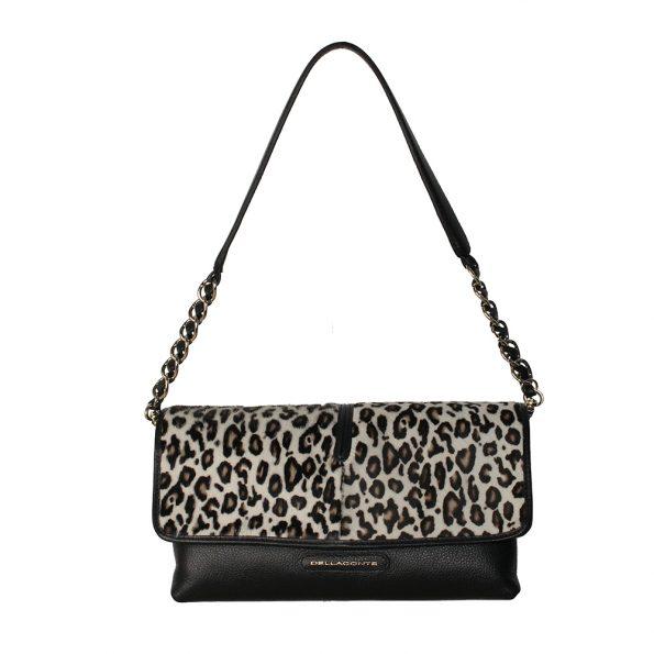 geanta de dama crossbody din piele naturala leopard alb cu negru 5107-52-52oro-alb-des