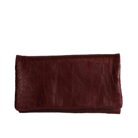 geanta plic din piele naturala ruby